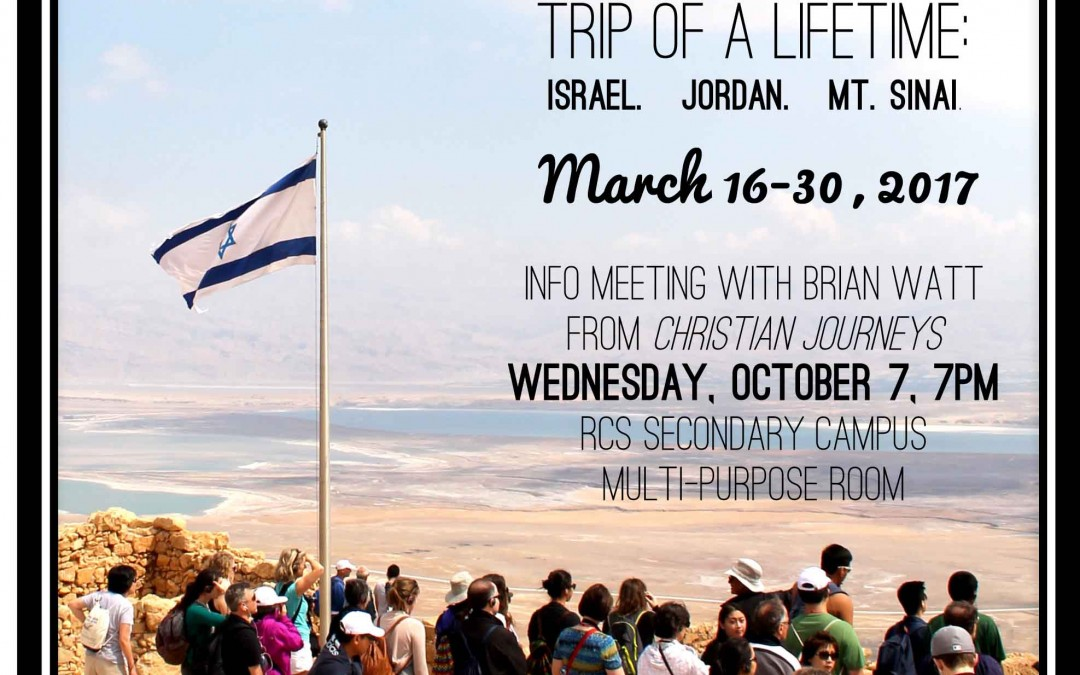 Discipleship Journey Meeting on Oct. 7th at 7pm