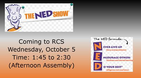 The NED Show coming to Elementary Campus