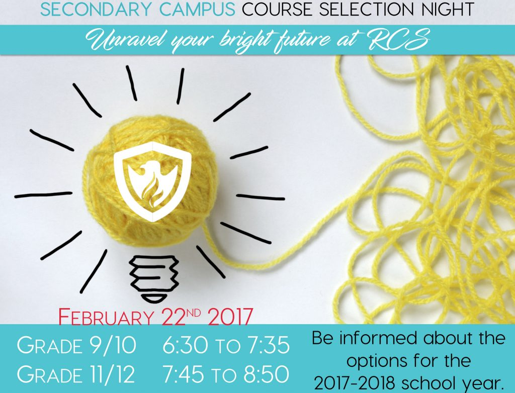 RCS SC Course Selection Night